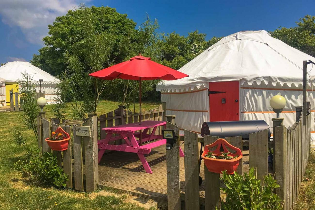 Short Break Holidays - Poppy Yurt