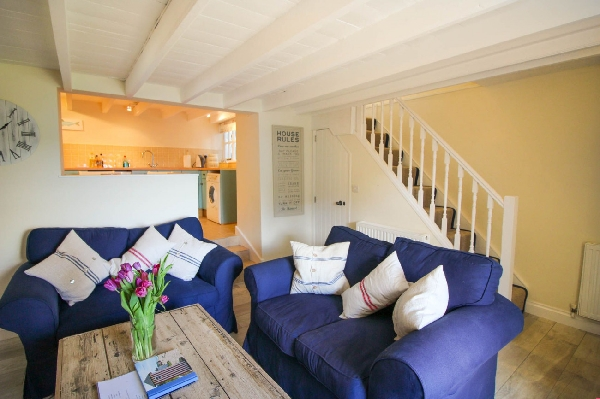 Little Cottage is in St Mawes, Cornwall
