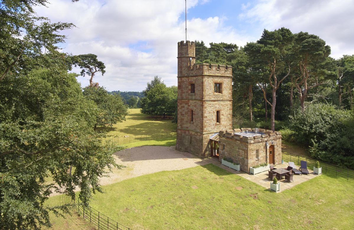 Shropshire Cottage Holidays - Click here for more about The Knoll Tower