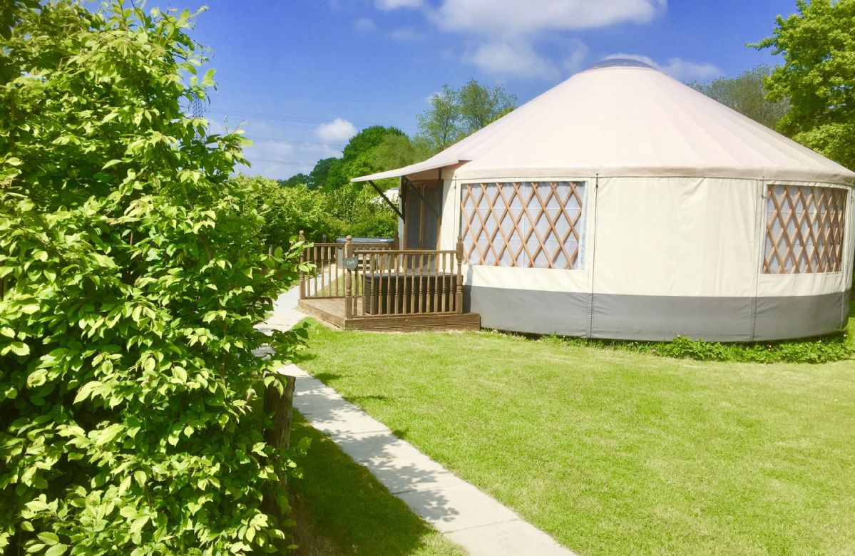 East Sussex Cottage Holidays - Click here for more about Oak Yurt