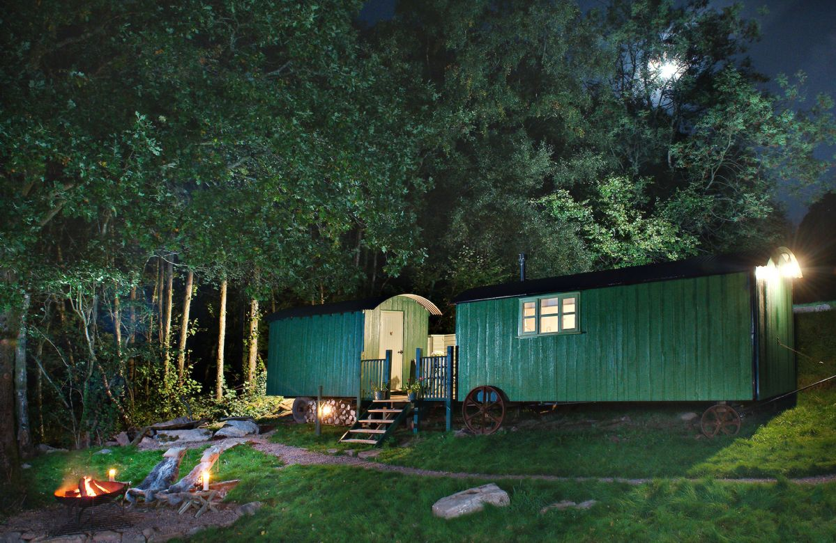 Monmouthshire Cottage Holidays - Click here for more about Anne's Hut