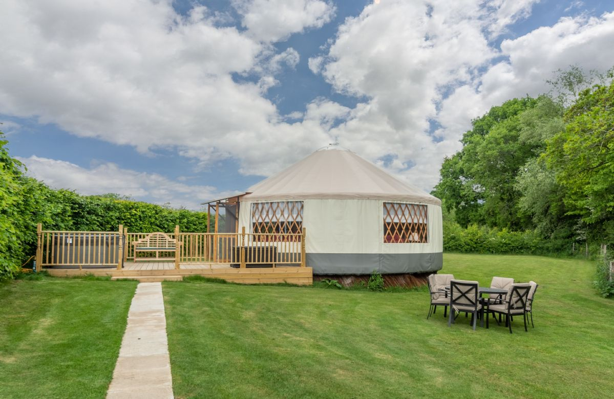 East Sussex Cottage Holidays - Click here for more about Willow Yurt
