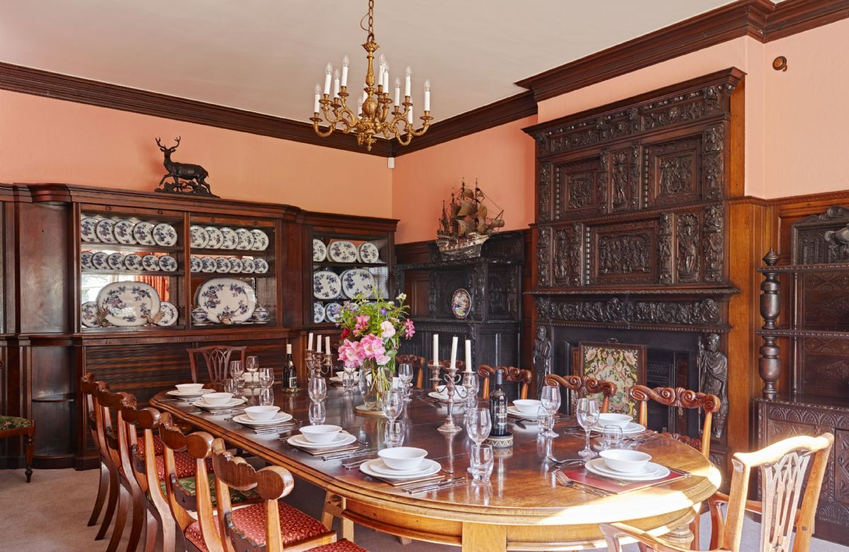 Staffordshire Cottage Holidays - Click here for more about Sugnall Hall