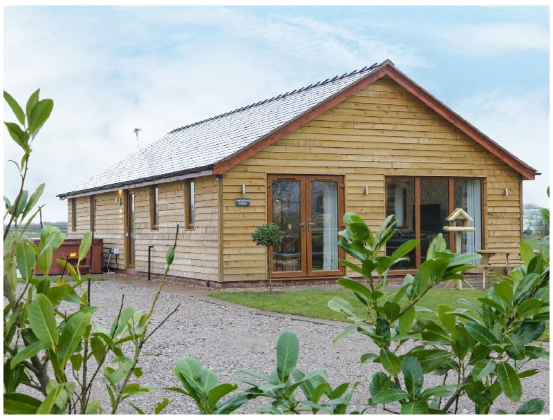 Cheshire Cottage Holidays - Click here for more about Woodman's Lodge