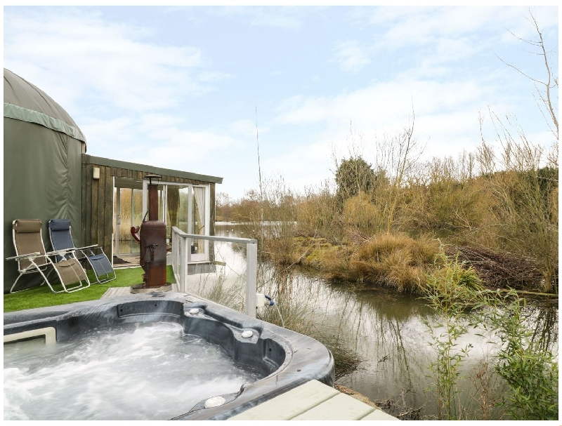 Worcestershire Cottage Holidays - Click here for more about Secret Island Yurt