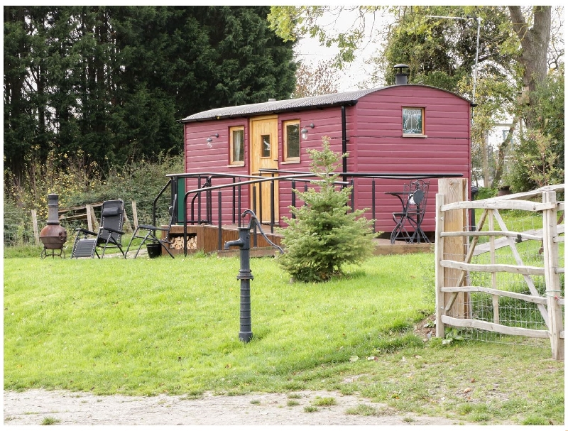 Denbighshire Cottage Holidays - Click here for more about The Shire Hut