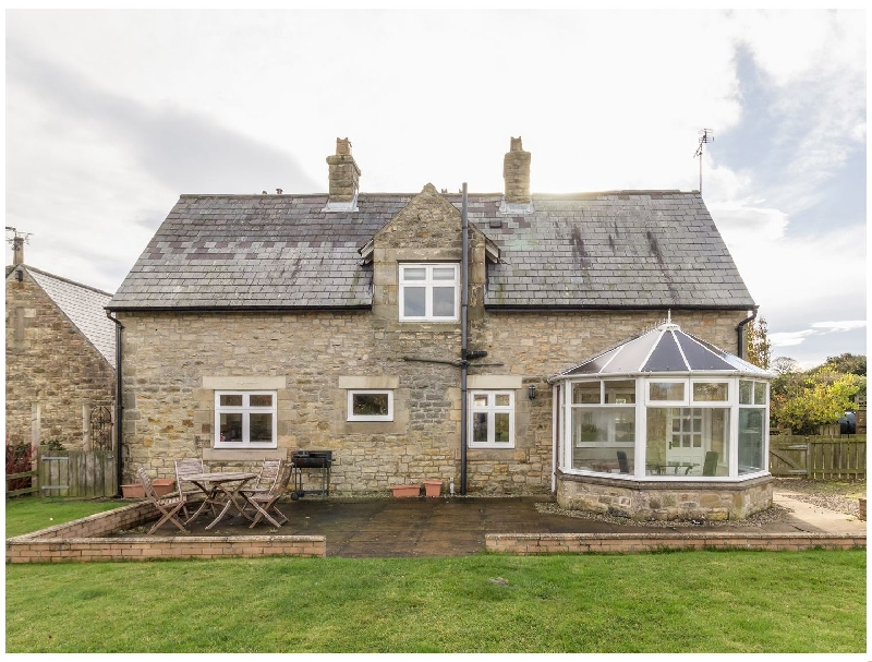 Northumberland Cottage Holidays - Click here for more about The Annexe- Eastfield Hall