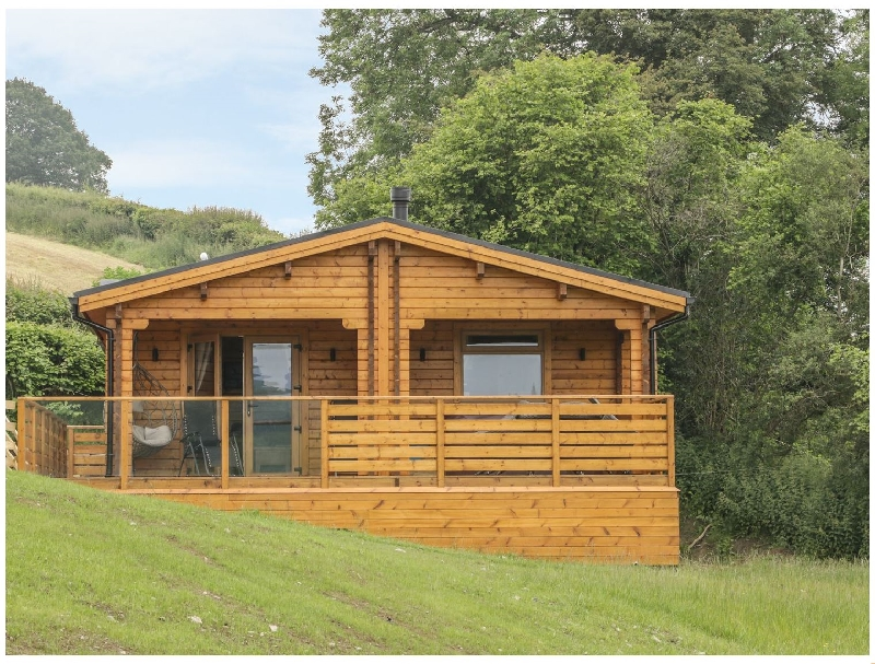Powys Cottage Holidays - Click here for more about Manor Farm Lodges - Red Kite Lodge