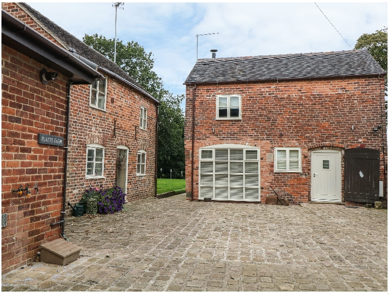 Staffordshire Cottage Holidays - Click here for more about Orchard Barn