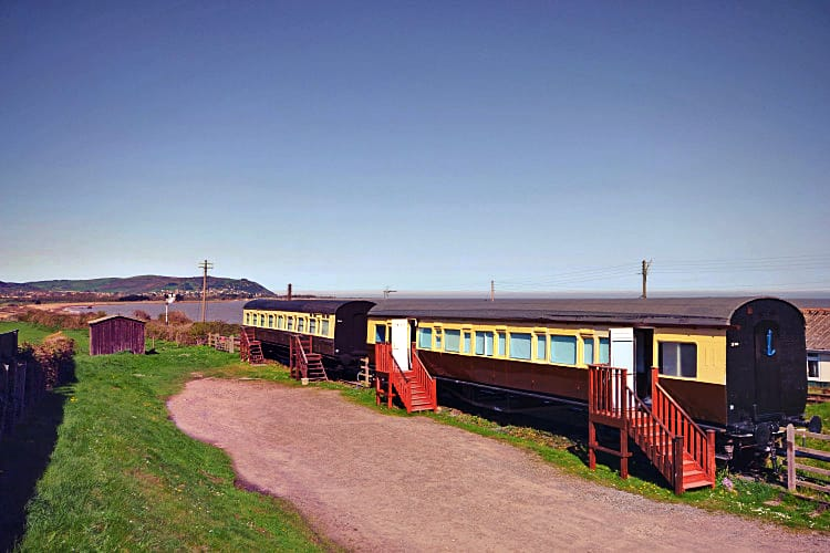 Somerset Cottage Holidays - Click here for more about Railway Carriage