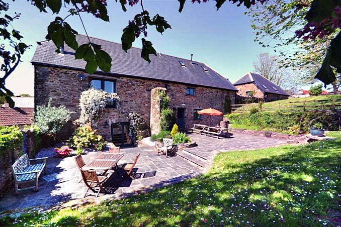 Devon Cottage Holidays - Click here for more about Old Traine Barn